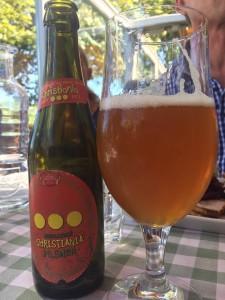 Αν και η Carlsberg παραμένει η #1 μπύρα της Δανίας (με ποσοστό 85% της αγοράς) , η μόδα και εδώ είναι οι μπύρες απο μικρές ζυθοποιίες. Εδώ μία οικολογική (βιολογική) μπύρα pilnsner