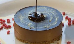chocolate-cakesmooth-bitter-chocolate-mousse-raspberry-jelly-crunchy-hazelnut-and-warm-brandy-sauce