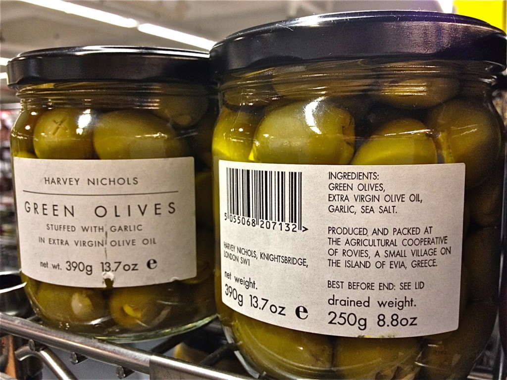 Delicious greek olives are exported to fancy delis around the world.