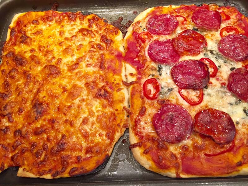 Μιά πίτσα για κάθε γούστο!